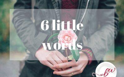 6 little word by Bonnie Wirth